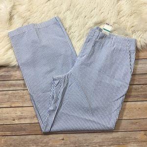 Tommy Hilfiger Pants Wide Leg Striped Plus Size 16